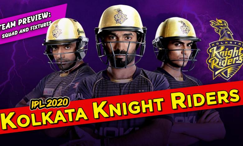 Kolkata Knight Riders IPL 2020