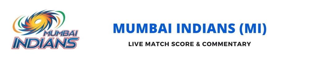 MI live score