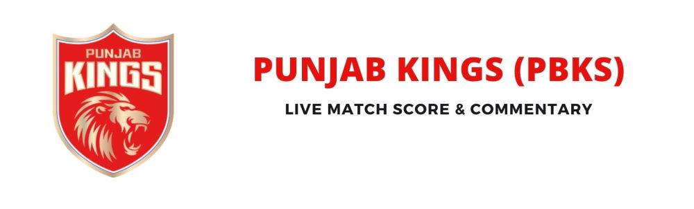 PBKS live score