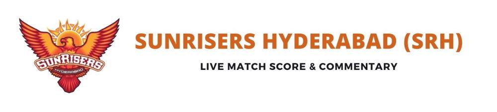 SRH live score